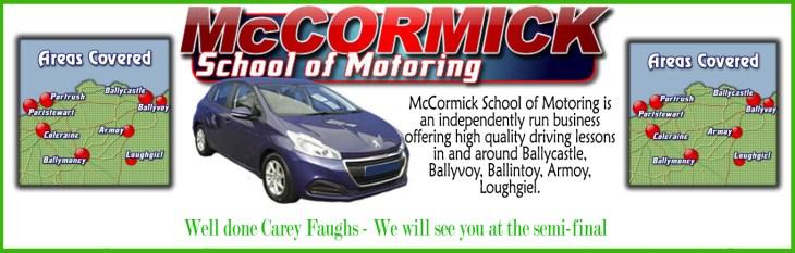 Sean McCormick copy-congats