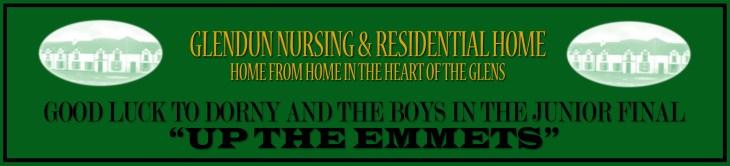 Glendun Nursing Home ad copy