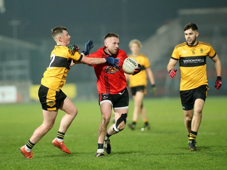 17/11/2018 St Endas vs Tattyreagh Ulster Club Intermediate Semi Final at Athletic Grounds