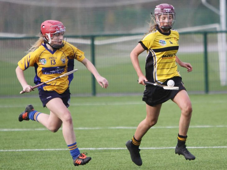 Caoimhe McNaughton action shot for Ulster