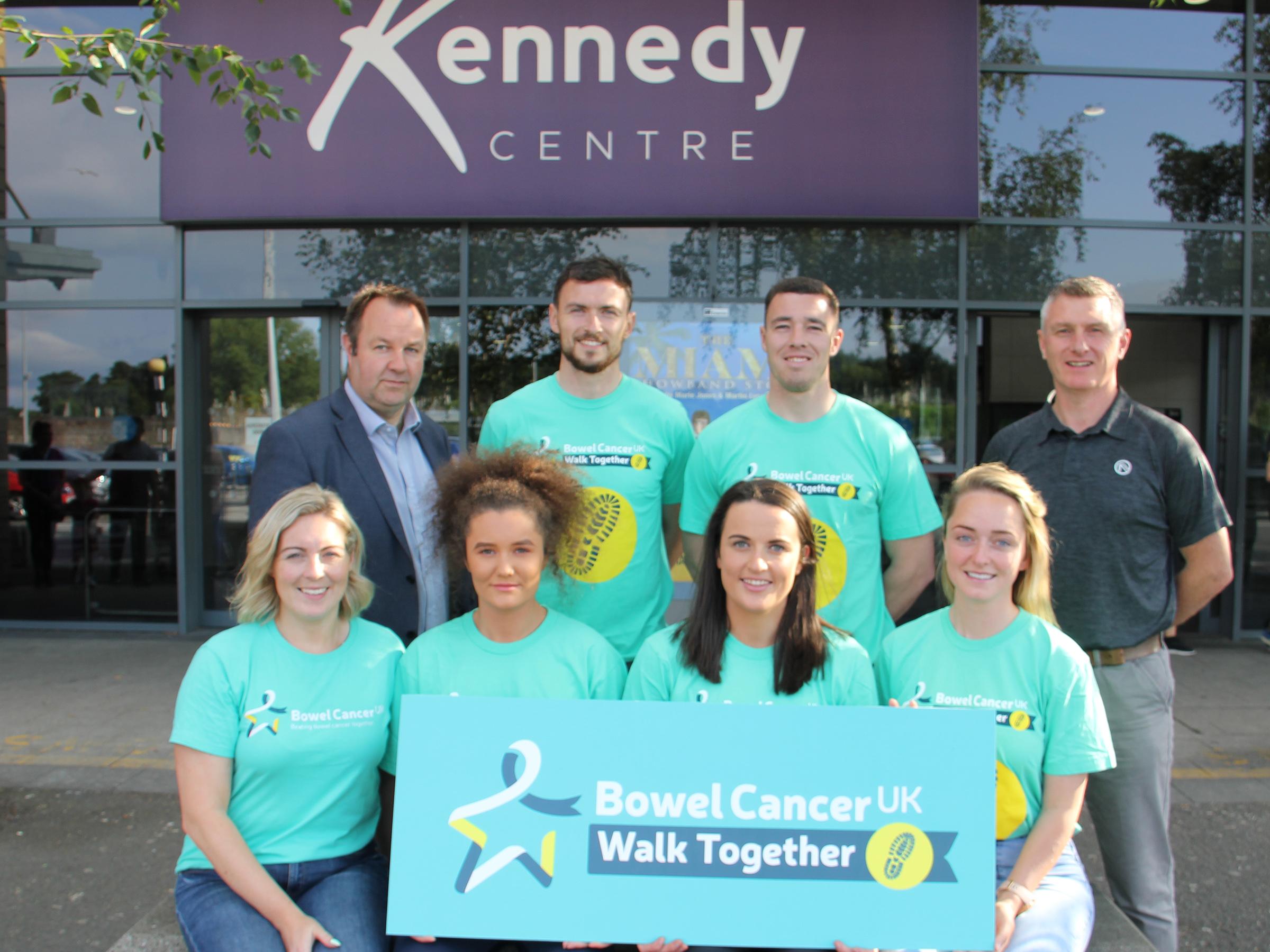 Antrim Gaels To Walk Together For Bowel Cancer Uk The Saffron Gael