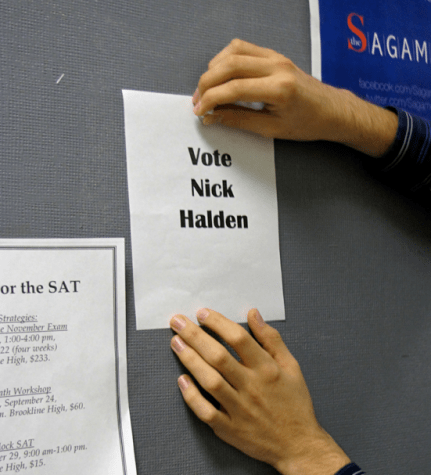 Vote Nick Halden: One student's message concerning social networking