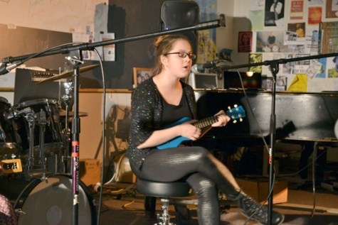 Girls rock at Open Mic