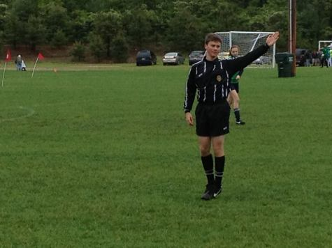 Refereeing provides job opportunities to students