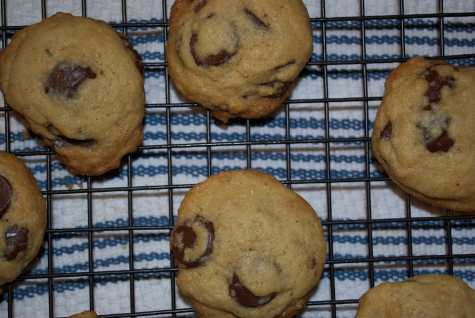 Sophie's Table: The Joy of Cooking chocolate chip cookies