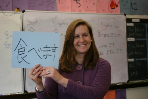 Japanese teacher combines culture and language