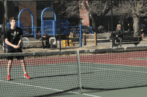 Tennis teams adapt to potential renovations at Waldstein