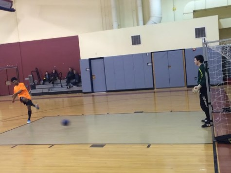 Futsal attracts players of varied skill and age