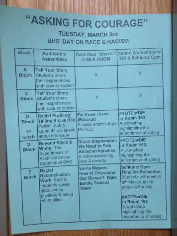 Day of discussion about race and racism to be held Tuesday