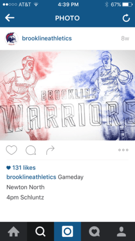 Athletics builds strong social media presence