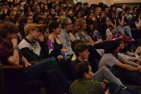 "Students lead discussion on ""Asking for Courage"" day dedicated to racial issues"