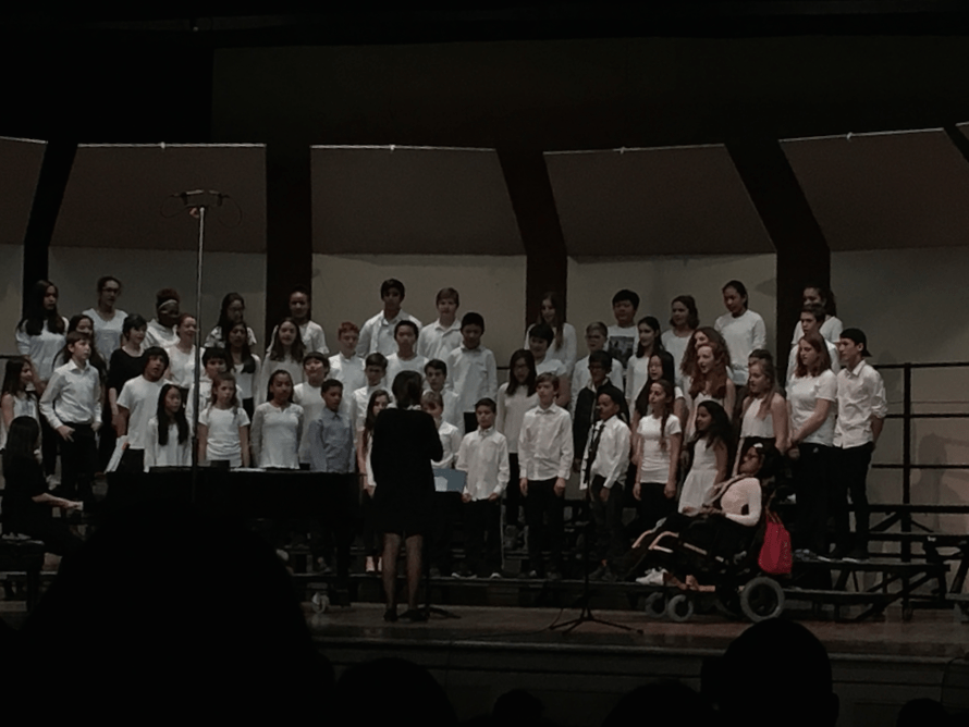 Future+Camerata+singers%3F+Elementary+school+students+try+out+the+high+school%27s+stage+as+they+perform+at+the+All-Town+Chorus+Concert+on+Jan.+10.+ELENE+CHAMBERLAIN%2FSAGAMORE+STAFF
