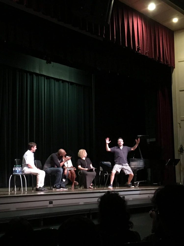A+panel+of+performing+arts+teachers+sat+with+Nik+Walker%2C+as+he+explained+his+life+as+an+actor.%0ASabrina+Zhou%2FSagamore+Staff