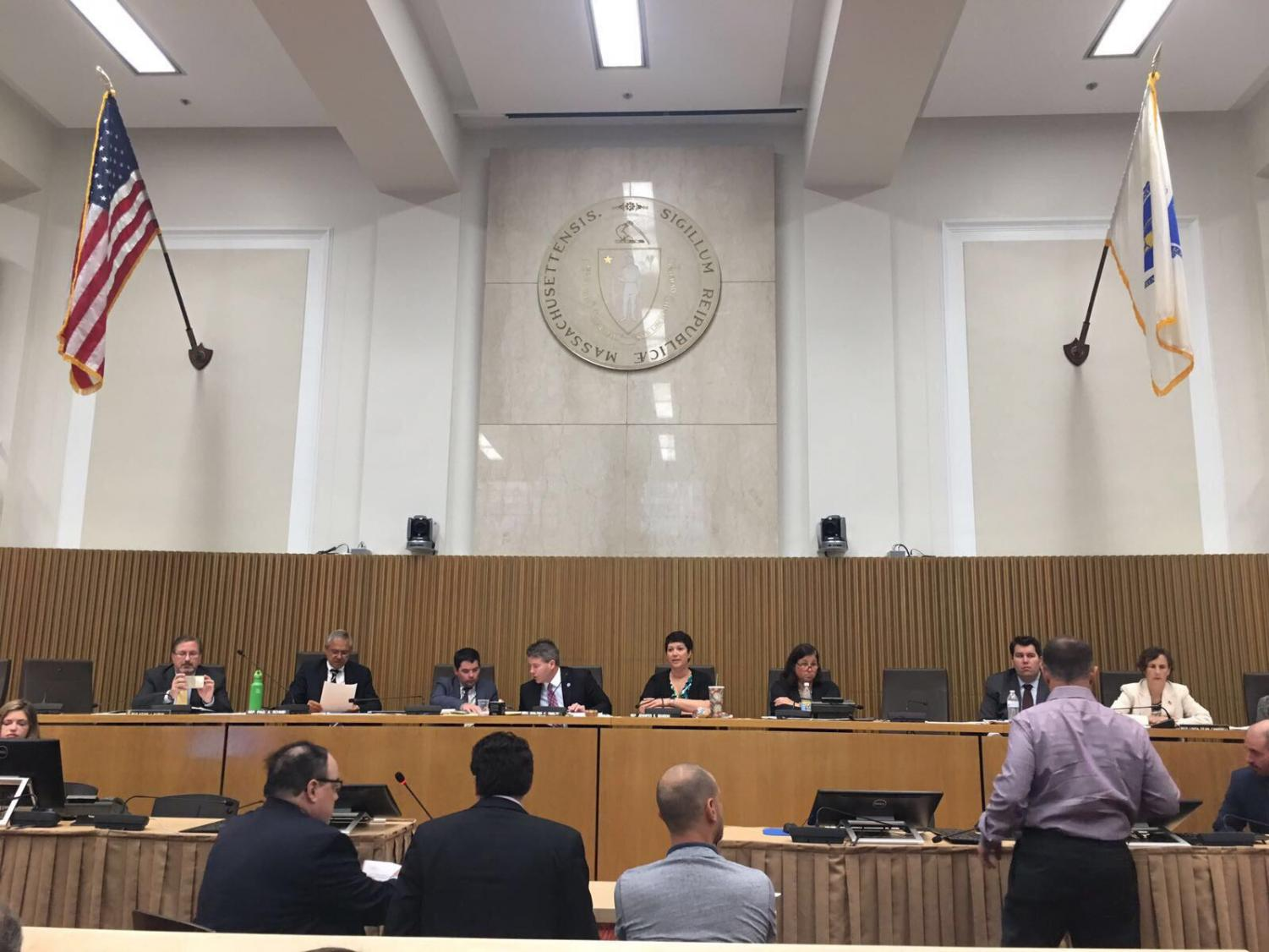 At a public hearing held on July 18, 2017 by the Massachusetts State Legislature, several speakers argued for and against the installment of a new anti-discriminatory law, including junior Adi Mayer.