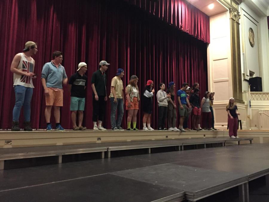 The+cast+of+Needs+Improvment+watches+senior+Emily+Gerson+rant+during+an+improv+game+called+%22You+Know+What+I+Hate%3F%22