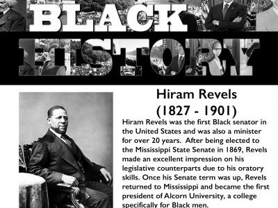 Black History Month: Hiram Revels