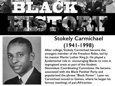 Black History Month: Stokely Carmichael