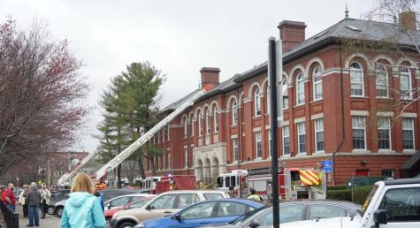 Fire prompts evacuation of the Unified Arts Building
