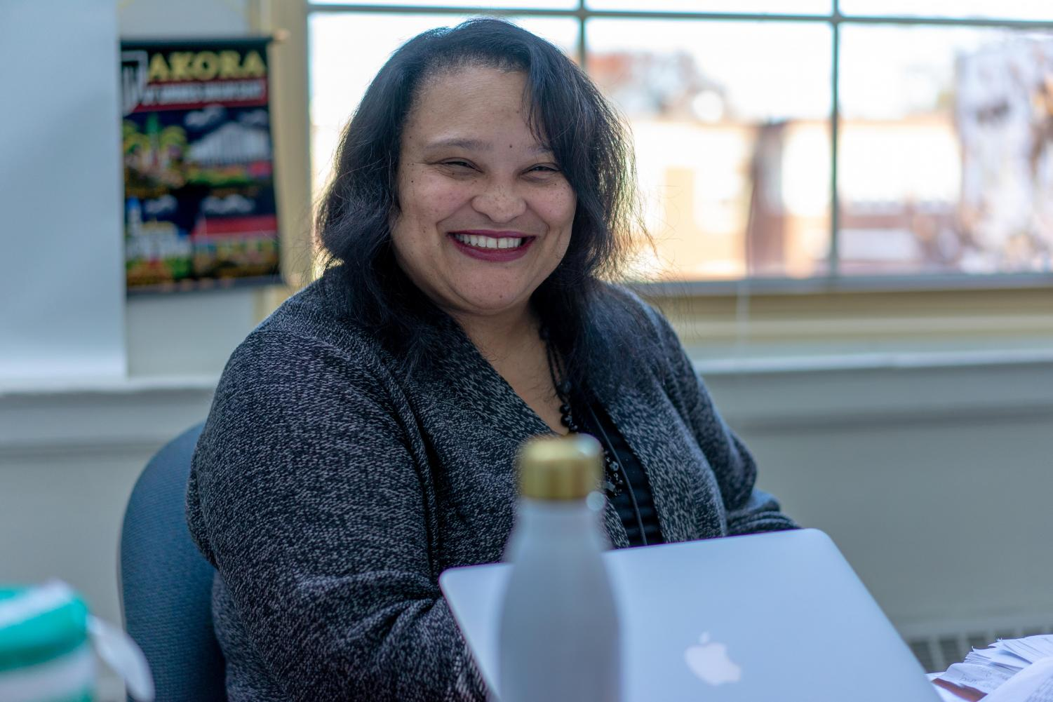 New Dean of Students Lisa Gilbert-Smith's experiences as a student and a teacher have influenced the way she works with her students to help them successfully pursue their goals.