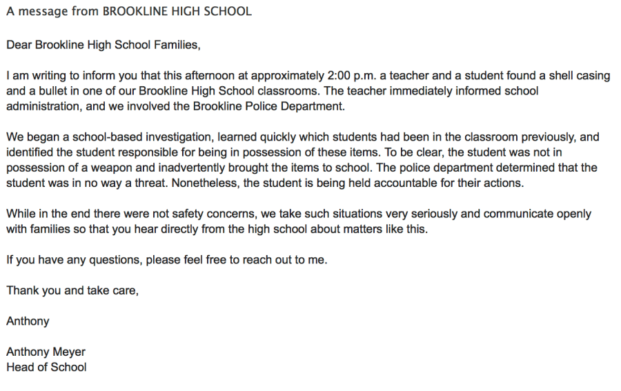 A+letter+sent+out+to+all+high+school+families+by+headmaster+Anthony+Meyer+describes+the+incident.