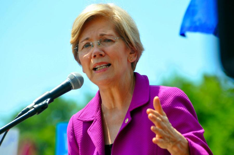 Massachusetts+Senator+Elizabeth+Warren+plans+to+support+America%27s+growing+middle+class%2C+increase+taxation+on+the+wealthiest+Americans+and+eliminate+corruption+in+Washington.+