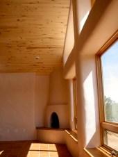 Rumford designed Kiva fireplace in the Living Room.