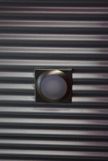 Corrugated tin cieling