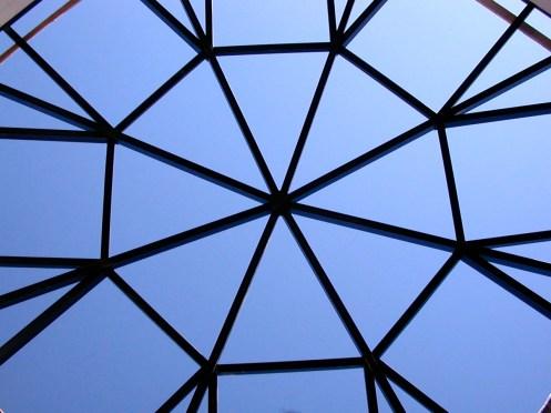 Atrium skylight.