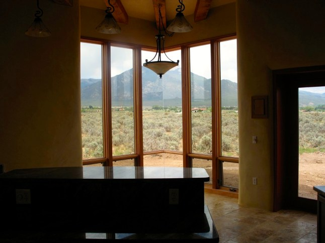 North view from Kitchen.