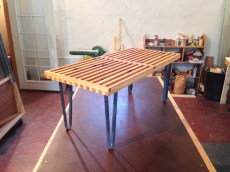 Slatted Cedar Table
