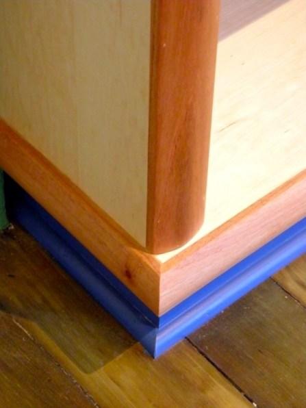Bookcase detail.