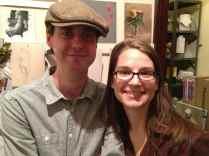 Devin Cecil-Wishing and Rebecca Gray
