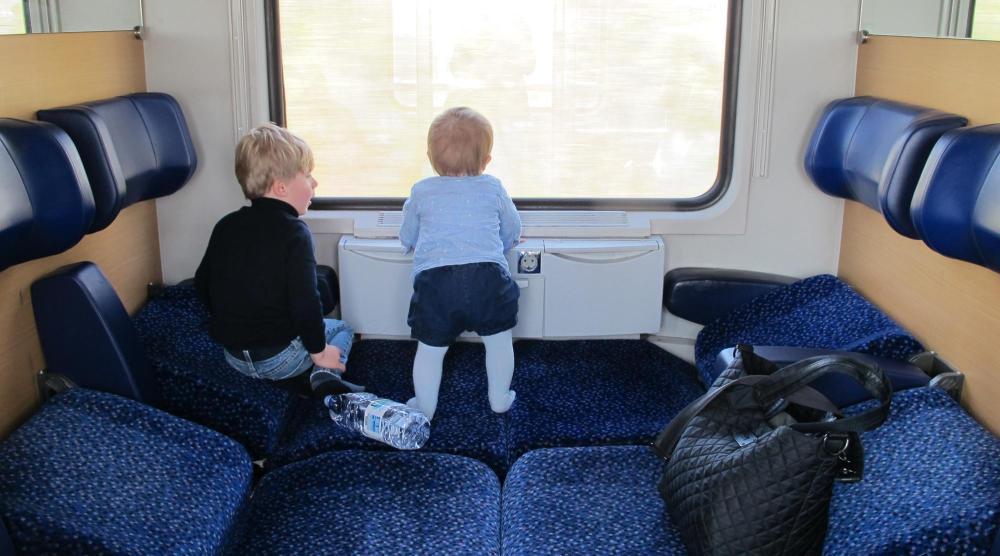 Venedig mit Kindern - Zugfahrt