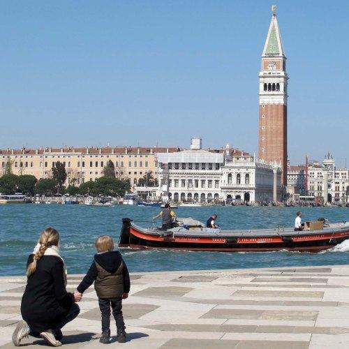 Venedig mit Kindern Teil I – für alle Sinne!