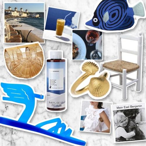 Griechischer Sommer – Lieblinge fürs Urlaubsfeeling