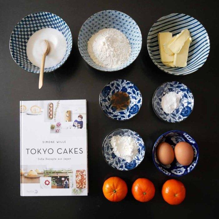 Japanische Teatime - Zutaten Kuchen