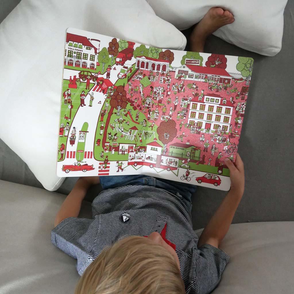 Zürich mit Kindern - Wimmelbuch