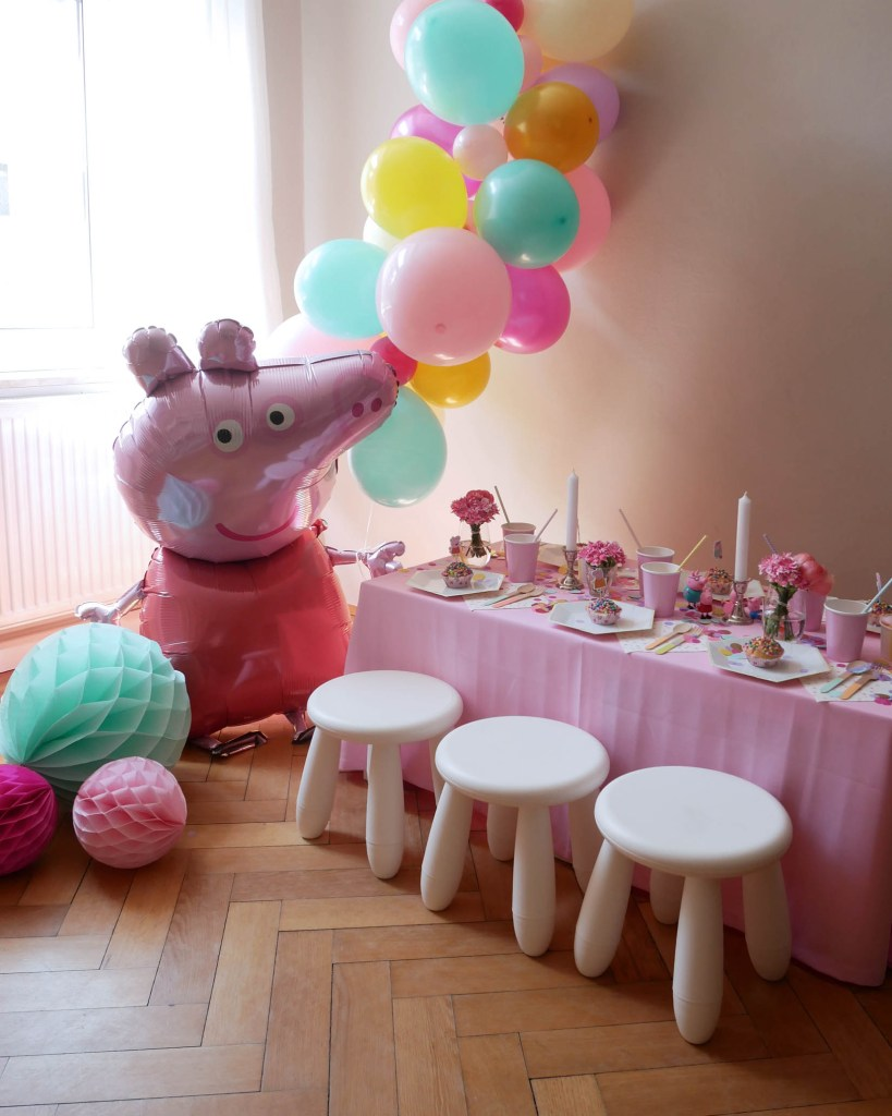 Peppa-Wutz-Party Festtafel