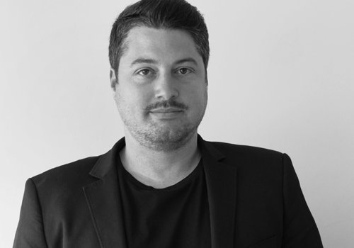 Steven Gunnip, Director, Salon Evolution B&W_500