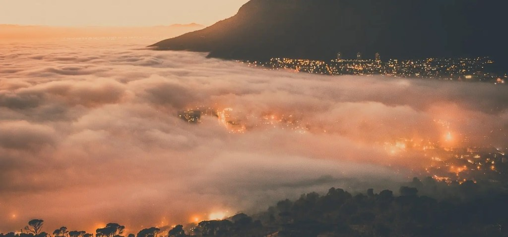 Night over Cape Town