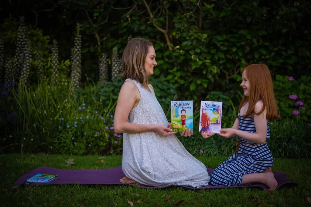 The stories and illustrations encourage children to practise yoga.