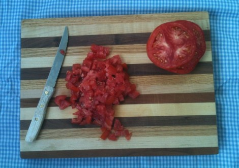 Summer Tomato Relish by  The Local Forkful: Recipe by Charles Hunter III