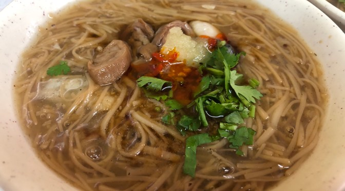 Taiwanese Delicacies #4: Oyster Vermicelli