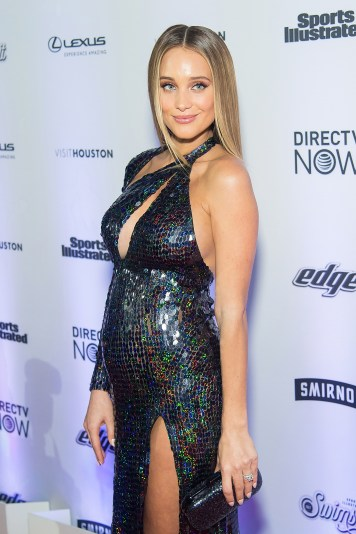 NEW YORK, NY - FEBRUARY 16: Model Hannah Davis Jeter attends the Sports Illustrated Swimsuit 2017 launch event at Center415 Event Space on February 16, 2017 in New York City. (Photo by Michael Stewart/Getty Images)