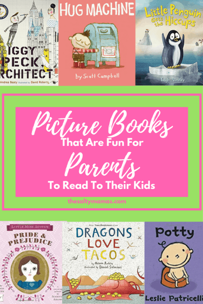 Looking for some books to read to your children that DON'T drive you crazy? Start with this list from thesaltymamas.com #childrensbooks #picturebooks