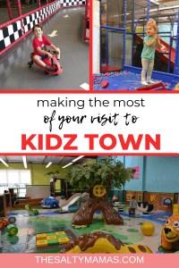 Check out these tips for visiting Kidz Town with toddlers from thesaltymamas.com - you'll be happy you did! #KidzTown #bestkidsplayplace #indoorplay #bestindoorplayarea #indoorplayarea #indoorplayLongBeach #indoorplayLakewood