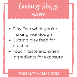 #cooking #cookingwithbaby #babycookingskills #canbabiescook #babyinthekitchen #cookingdinnerwithbaby #babywearing