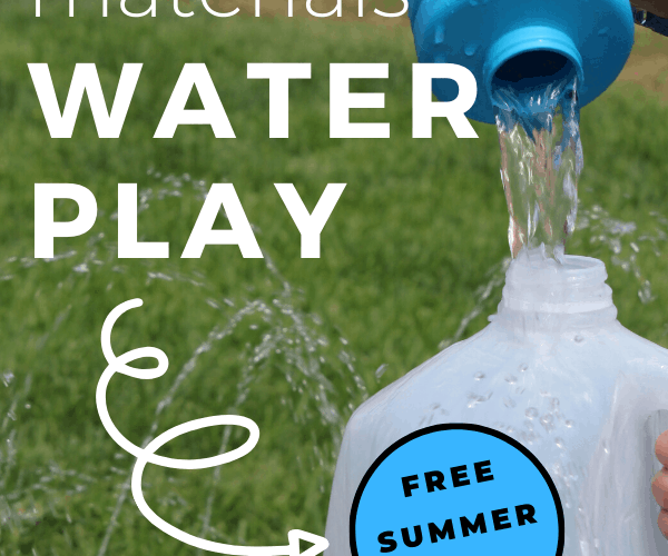 Water Play for Toddlers Using Recycled Materials