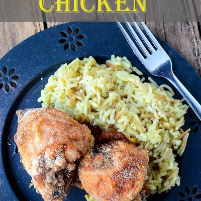 super easy breaded and baked chicken