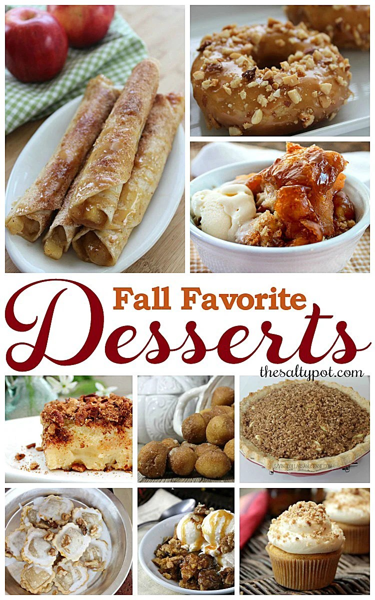 favorite desserts for fall